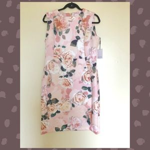 Gorgeous floral Calvin Klein dress